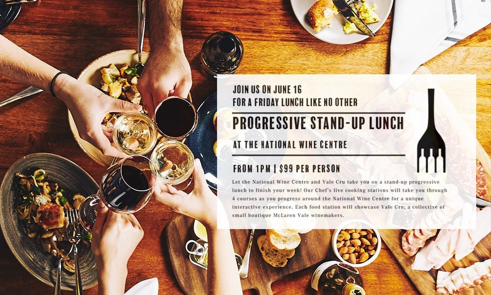 National Wine Centre Vale Cru lunch Friday 16th June
