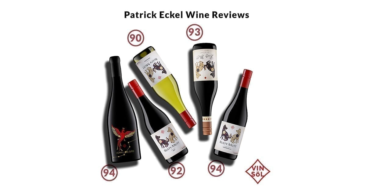 Patrick Eckel Rusty Mutt Wine reviews